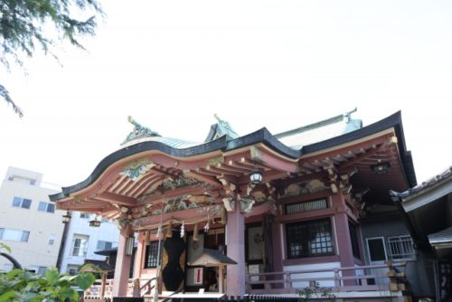 東京の復縁神社 今戸神社