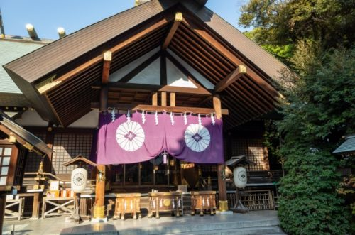 東京の復縁神社 東京大神宮